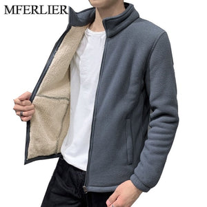 Winter Warm men jackets 5XL 6XL 7XL 8XL 9XL Bust 150cm men coat
