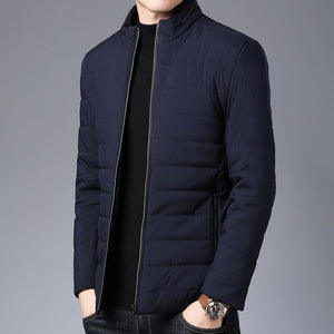Puffer Jacket Bubble Coat Men Thick Winter Brand Jackets Men Parka Casual Quilted Street Wear Mens Clothing M-3XL