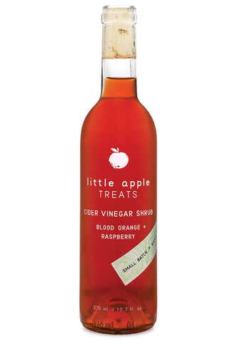 Little Apple Treats Shrubs - Blood Orange and Raspberry