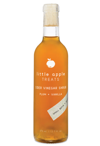 Little Apple Treats Shrubs - Plum and Vanilla