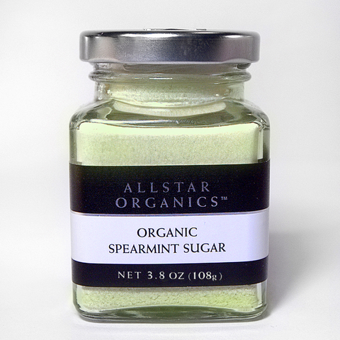 All Star Organics Spearmint Sugar 3 oz - FINAL SALE