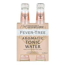 Fever Tree - Aromatic Tonic Water  4 x 200ml Bottles