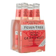 Fever Tree - Sparkling Grapefruit  4 x 200ml Bottles