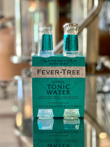 Fever Tree - Citrus Tonic Water 4 x 200ml Bottles
