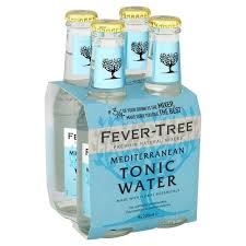 Fever Tree - Mediterranean Tonic Water 4 x 200ml Bottles