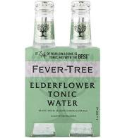 Fever Tree - Elderflower Tonic 4 x 200ml Bottles