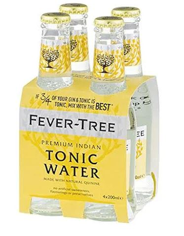 Fever Tree - Indian Tonic Water 4 x 200ml Bottles