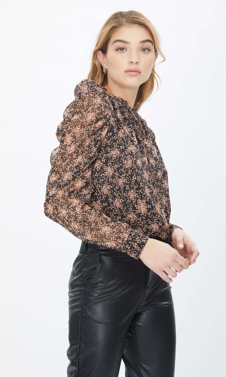 Generation Love Lou Ditsy Bouquet Blouse