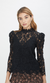 Generation Love Bianca Lace Top in Black