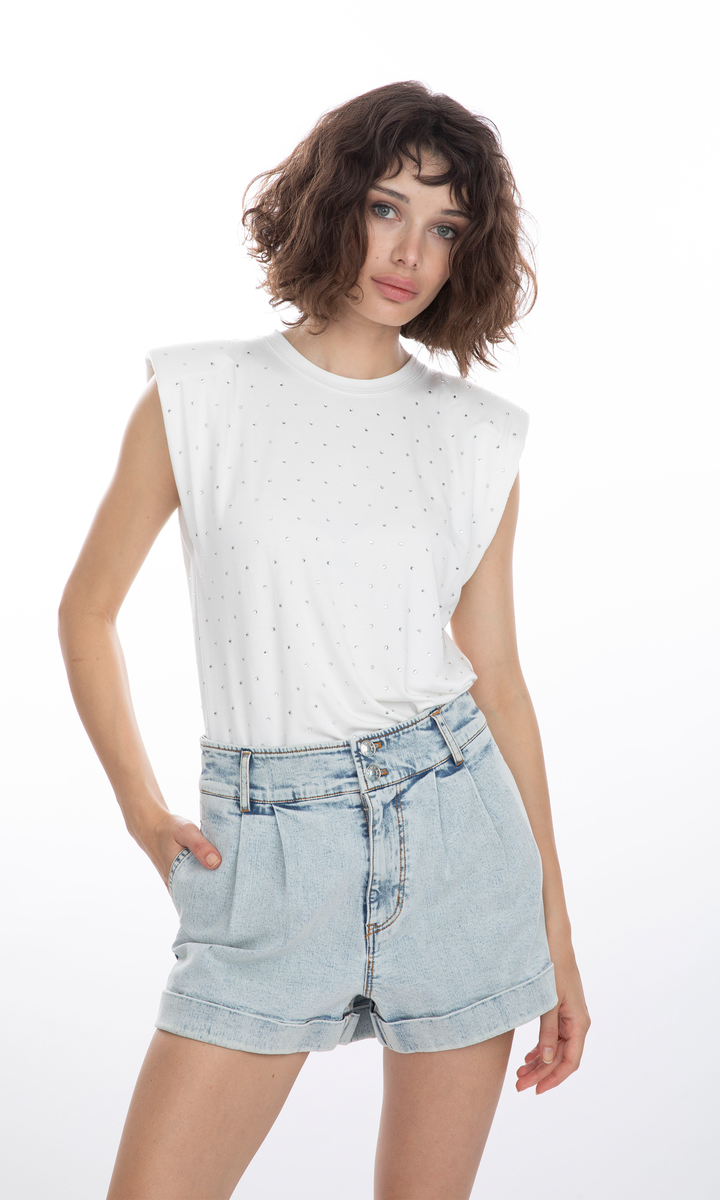 Generation Love Lex Top in White