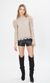 Generation Love Bianca Lace Top in Taupe