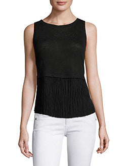 Generation Love Nolan Pleated Top