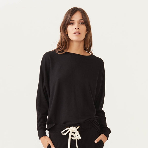 Monrow Asymmetric Dolman Sweater
