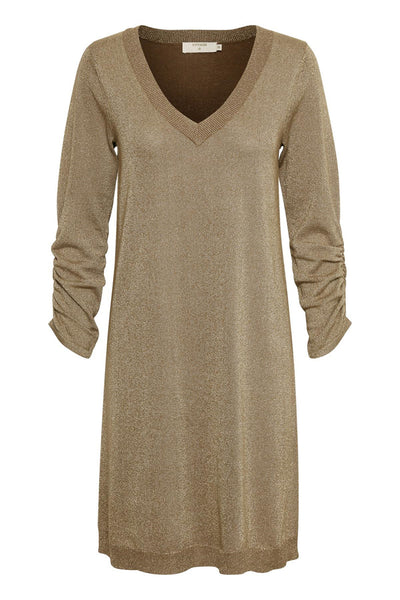 Cream Serena Knit Dress