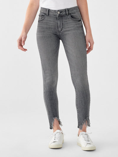 DL1961 Florence Mid Rise Jeans in Flint