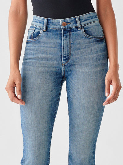 DL1961 Bridget Crop High Rise Jeans in Hanover