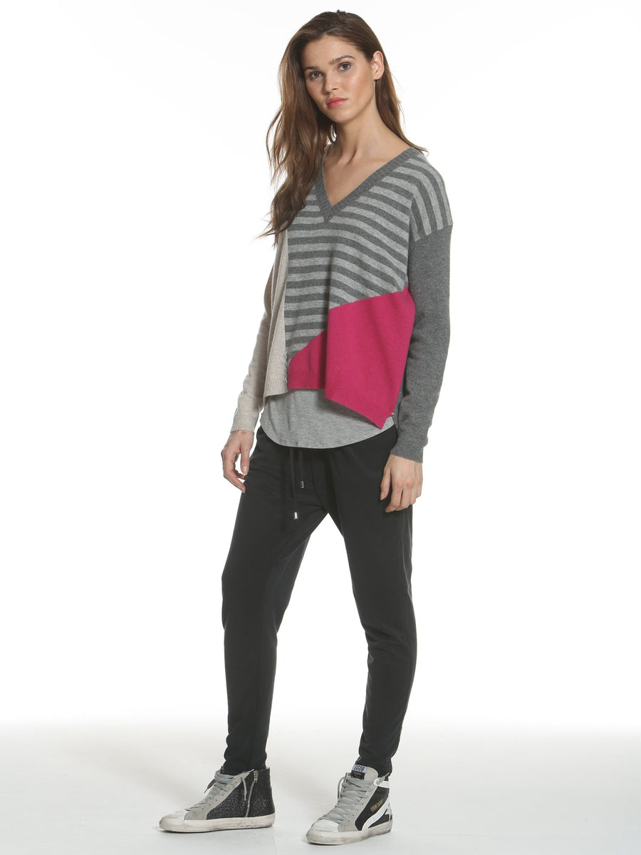 Label & Thread Whimsy Vee Sweater