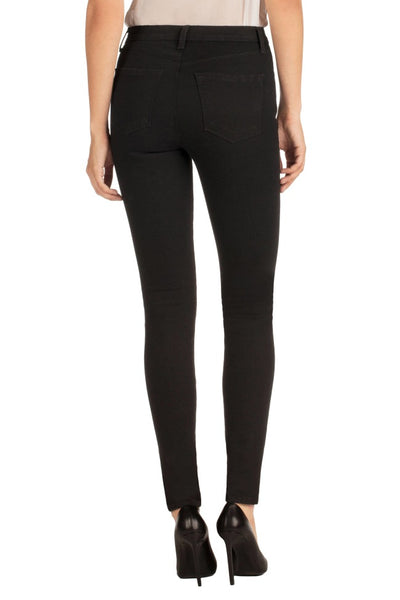 J Brand Maria High Rise Skinny in Black Heart