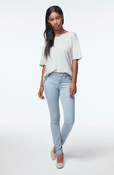 J Brand 485 Mid Rise Super Skinny In Yearling