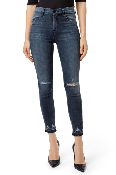 J Brand Alana Mid-Rise Cropped Skinny