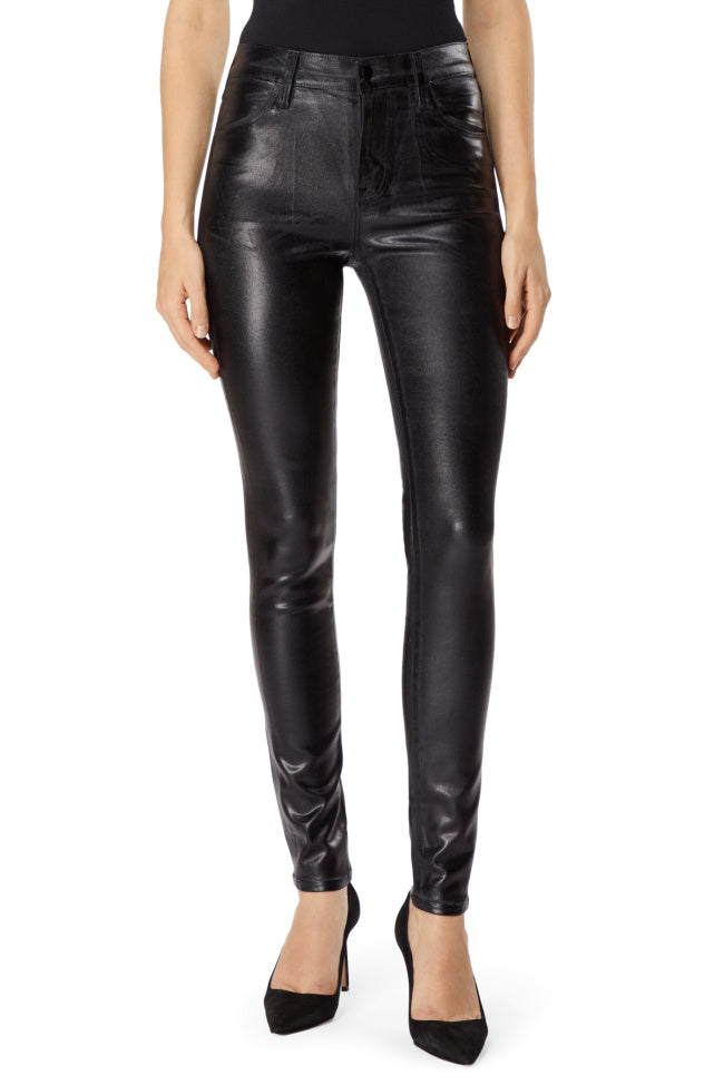 J Brand Maria High Rise in Galactic Black