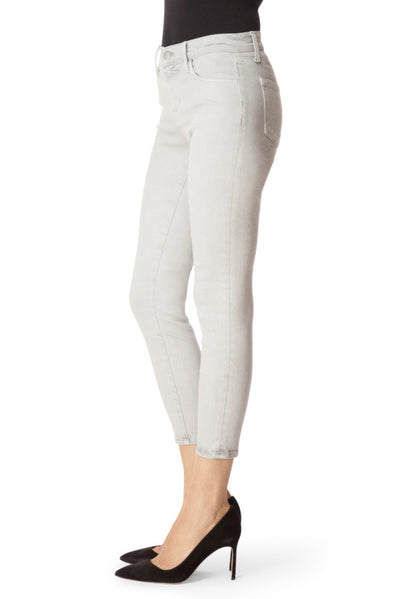 J Brand 835 Mid-Rise Crop Skinny in Misted
