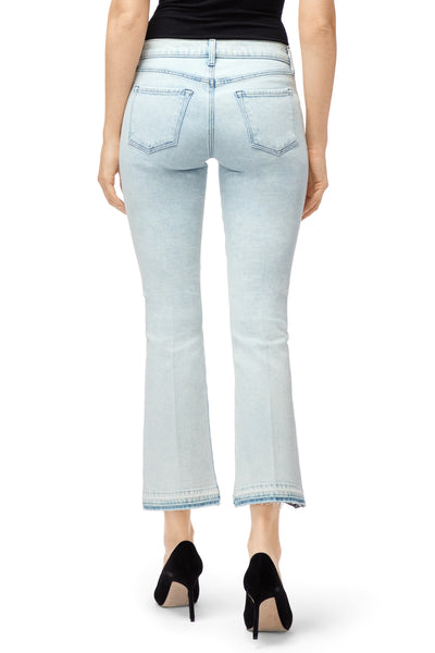 J Brand Selena Mid Rise Bootcut in Outcast
