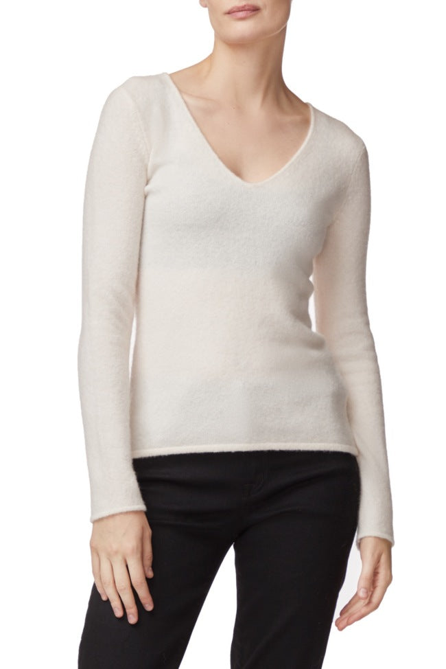 J Brand Brigid V Neck Sweater