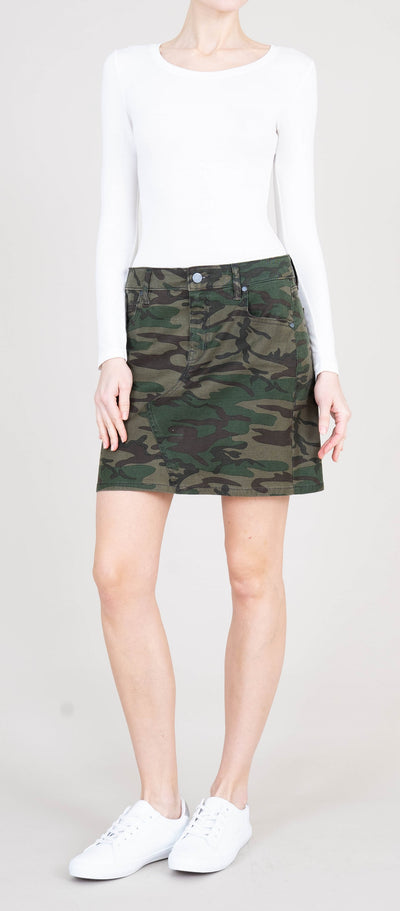 Level 99 Darcy Skirt in Camo