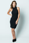 Stateside Rib Mock Neck Dress