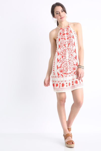 Willow and Clay Sienna Embroidered Dress - Estilo Boutique
