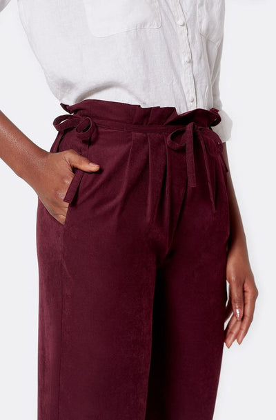 Joie Telia Pants in Deep Wine