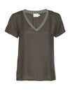 Nation June Sateen V Neck