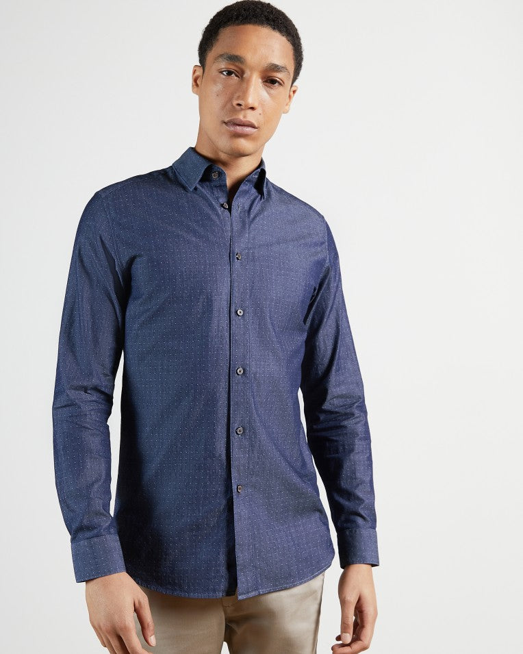 Ted Baker LS Plain Dobby Shirt