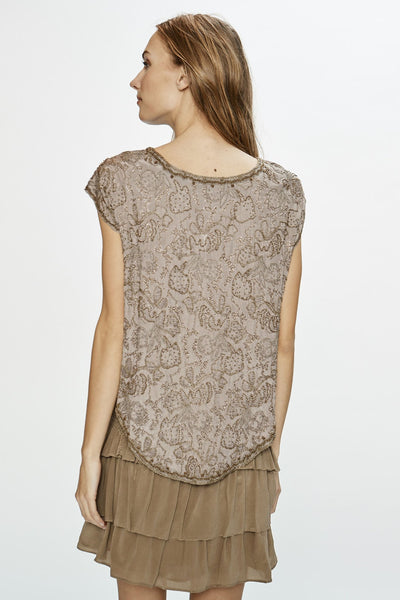 Love Sam Kenya Embellished Top