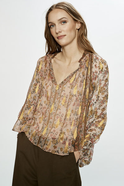 Love Sam Euphoria Peasant Top