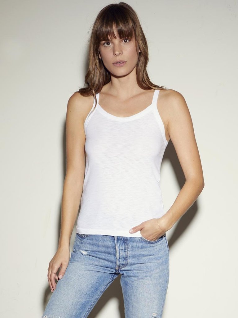 Nation Rebecca Tank in White