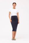 Stateside Rib Midi Skirt