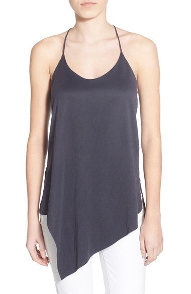 Willow and Clay Asymmetric Tank Top - Estilo Boutique