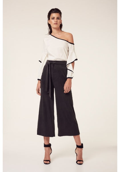 Once Was Salome Wide Leg Crop Pants