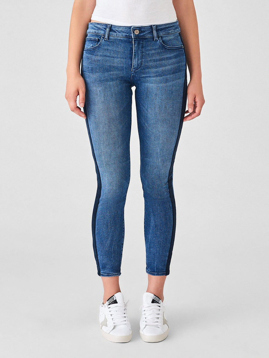 DL 1961 Florence Ankle Mid Rise Skinny in Pescadero