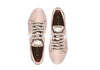 Kaanas Tatacoa Metallic Stripe Lace Up Sneakers in Blush