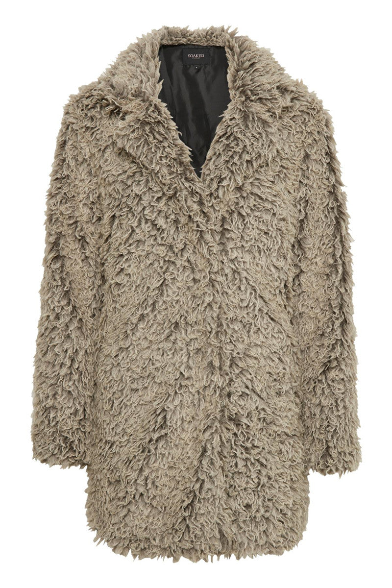 Soaked in Luxury Kelsey Faux Fur Jacket