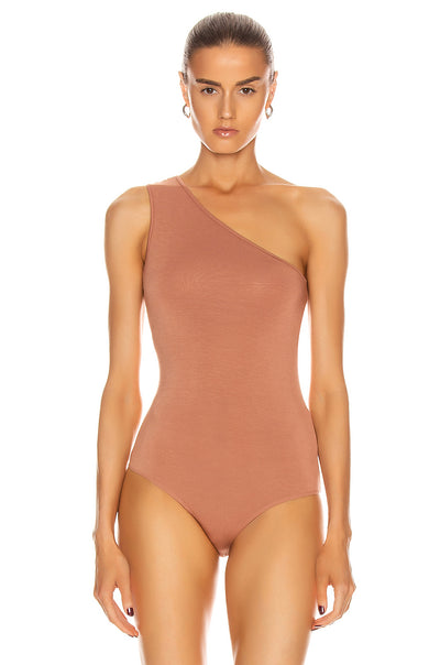 Enza Costa One Shoulder Bodysuit