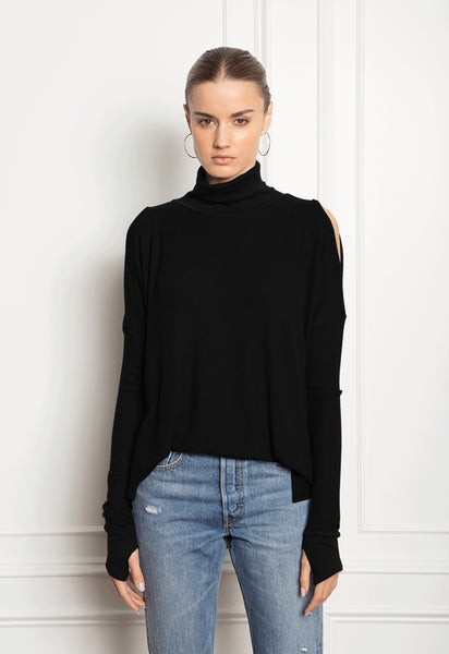 Feel The Piece Darian Top In Black