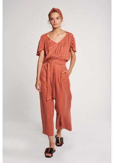 Once Was Leonie Wide Leg Jumpsuit