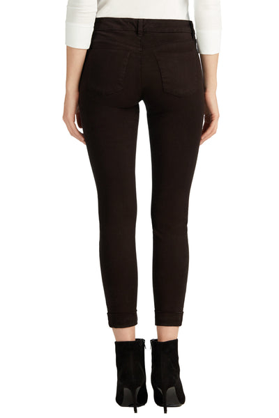 J Brand Anja Clean Cuffed Crop in Snifter - Estilo Boutique