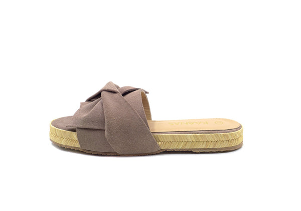 Kaanas Sayulita Bow Slide in Mauve