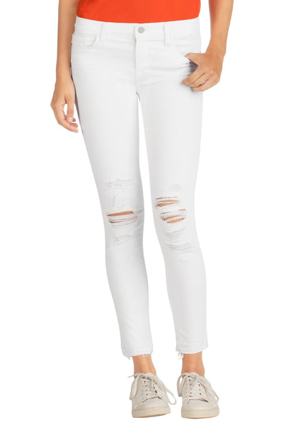 J Brand Low Rise Cropped Skinny in Demented