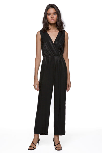 Greylin Maxine Shadow Stripe Jumpsuit